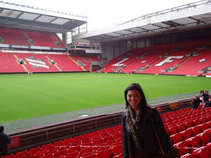 Arquibancada Anfield - Liverpool
