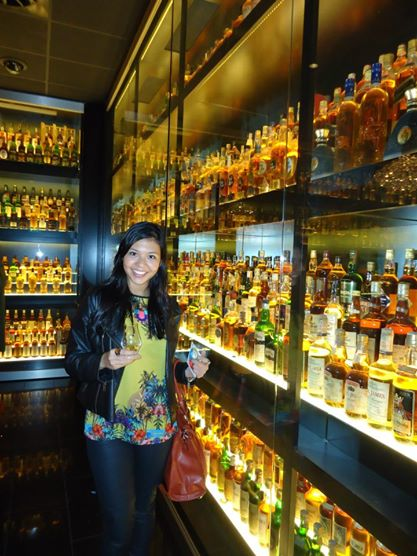 Maior coleção de whisky do mundo - The Scotch Whisky Experience