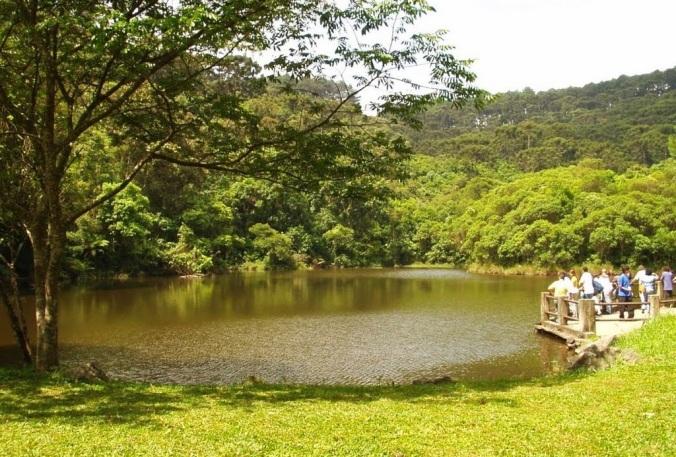Lago das Carpas Foto: Reprodução