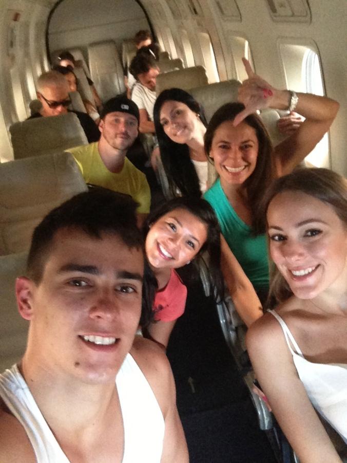Selfie indo para o Grand Canyon
