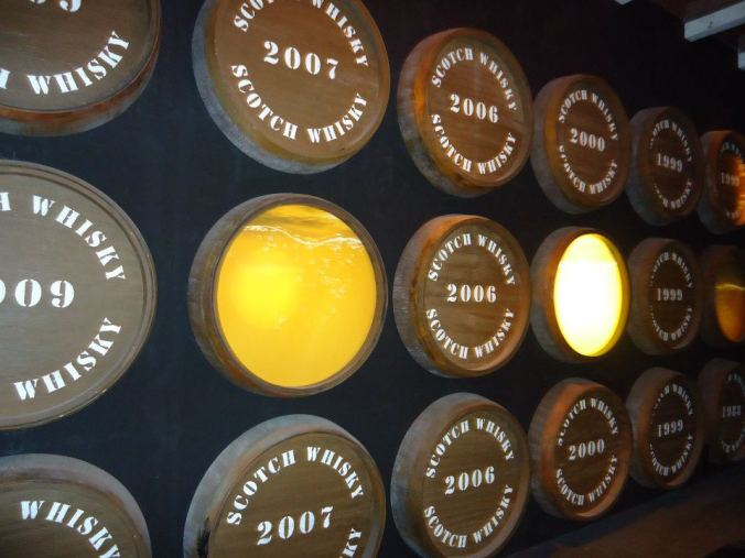 Tour fabricação de whisky - The Scotch Whisky Experience