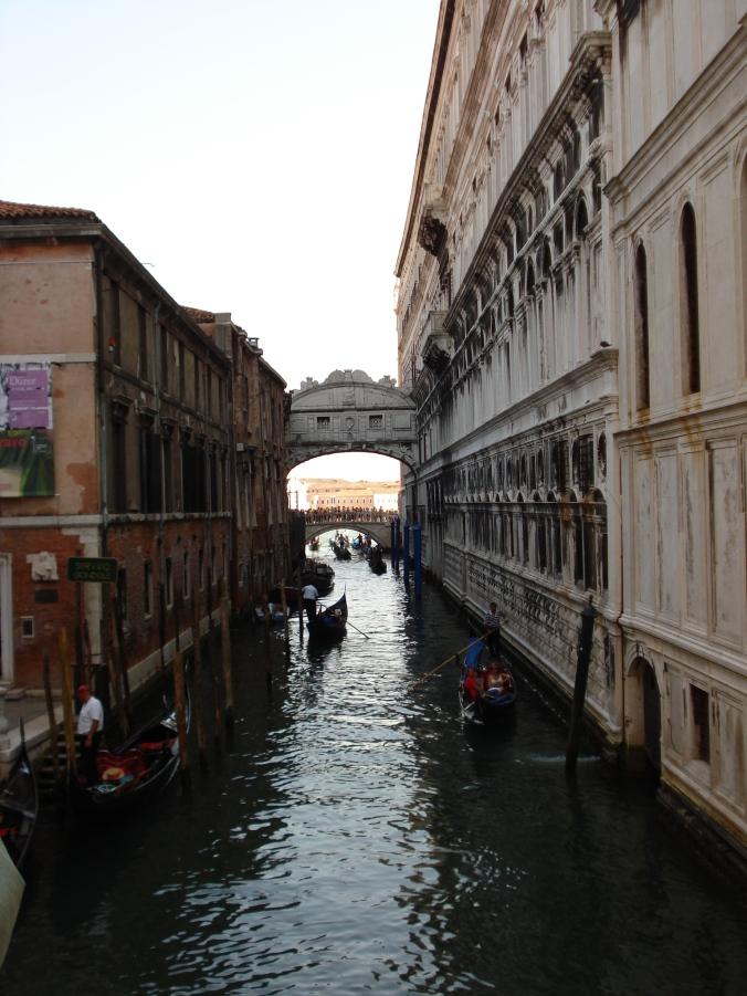 Veneza - Arquivo pessoal Elizabeth