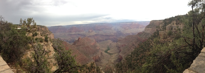 Vista panorâmica Grand Canyon