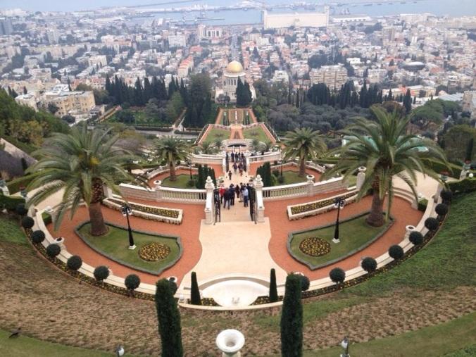 Bahai Gardens, em Haifa Arquivo: Eden Mantel