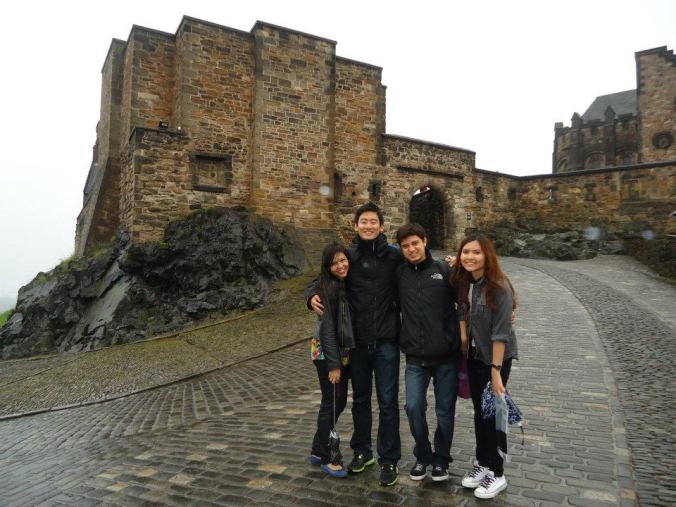 Uma de nossas viagens para a Escócia