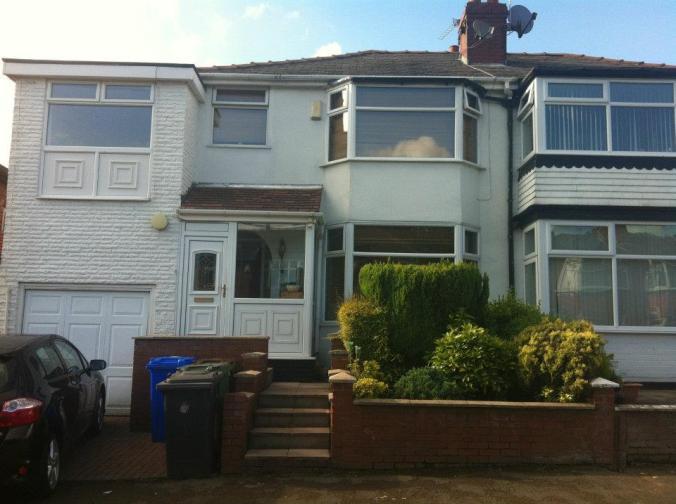 Minha casa em Manchester