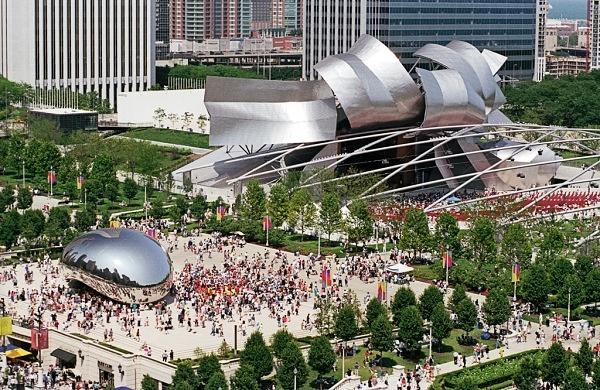 Millenium Park, Chicago Foto: Reprodução