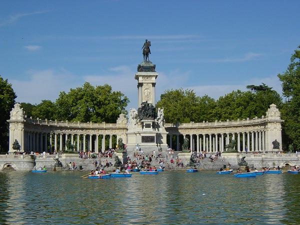 Parque del Buen Retiro, Madrid, Espanha Foto: Reprodução