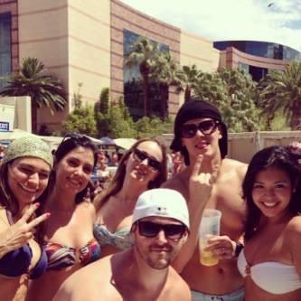 Wet Republic Ultra Pool, Las Vegas