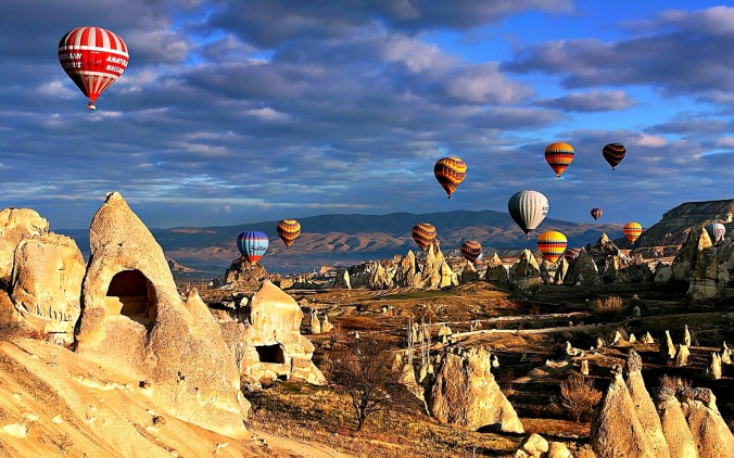 Capadocia, Turquia Foto: Reprodução