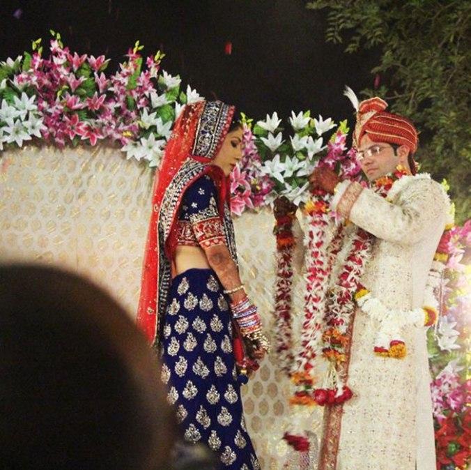 Cerimônia de casamento indiano