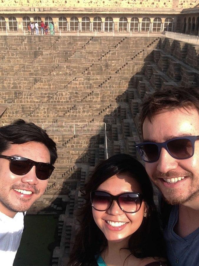 india-chand-baori-selfie-japa-viajante