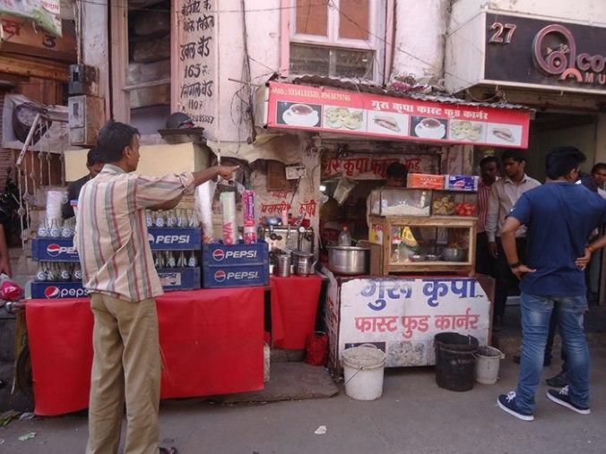 A famosa street food