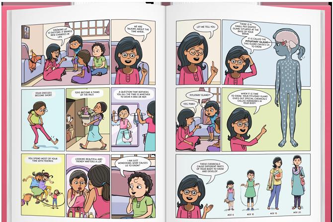 menstrupedia menstruacao india japa viajante