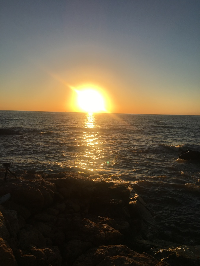 passeio gratis montevideo por do sol punta carretas